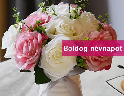 virágküldés névnapra