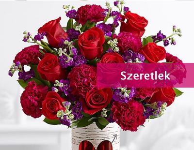 virágküldés szerelem